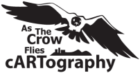 As the Crow Flies cARTography